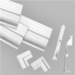DIY Door Kit White Satin  (Single Door Kit)