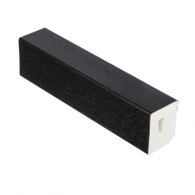 RECTANGLE 25mm x 20mm BLACK WOODGRAIN FOIL