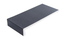 CAPPIT BOARD 150mm A/GREY FOIL ANTHRACITE GREY WOODGRAIN FOIL