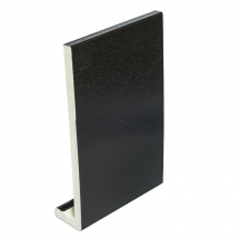 PVC Fascia Capping Board 405mm x 9mm x 5m Double Ended Black