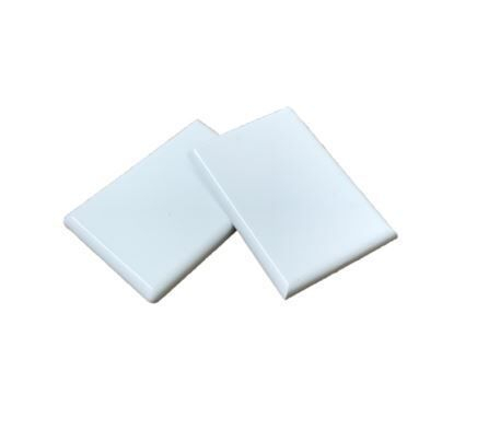 PVC Fascia Capping board End Caps 50mm White (Pair)