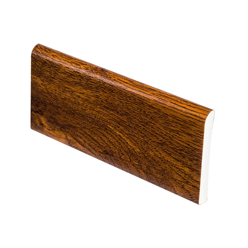 Upvc architrave 95mm x 5M x 6mm Golden Oak