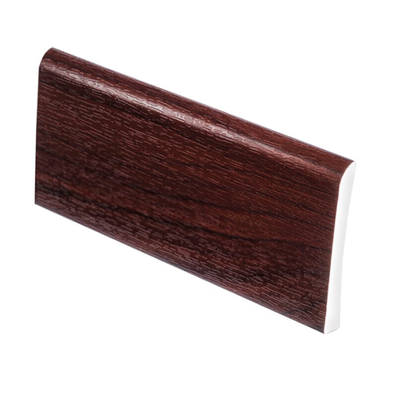 Upvc architrave 95mm x 5M x 6mm Rosewood