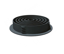 CIRCULAR SOFFIT VENT    A/GREY ANTHRACITE GREY