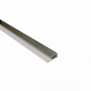 End Cap / Starter Trim 2.7M x 10mm Thick Chrome