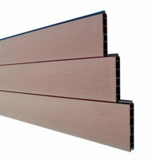 Duofuse T&G Fencing Tropical Brown 150mm x 1.8M