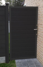 Duofuse T&G Gate Kit Graphite Black 1M x 1.8M (GATE ONLY)