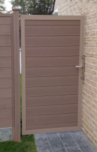Duofuse T&G Gate Kit Tropical Brown 1M x 1,8M (GATE ONLY)