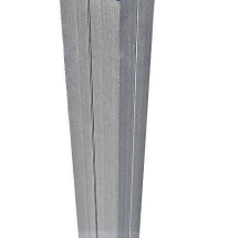 Duofuse Reinf Gate Post Stone Grey 1.8M