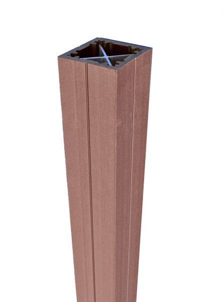 Duofuse Fencing Post Tropical Brown 90mm x 3M