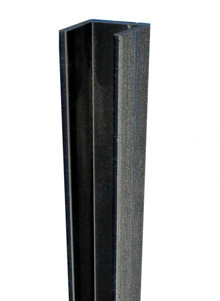 Duofuse Fencing U Profile Graphite Black (Small) 27mm x 1.82M