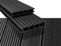 Duofuse Decking 162mm x 28mm x 4M Graphite Black
