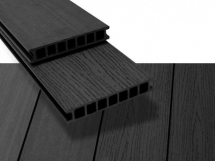 Duofuse Grained Decking 162mm x 28mm x 4M Graphite Black