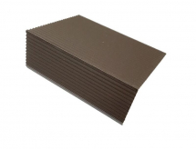 Duofuse Edge Trim 76mm x 37mm x4M Tropical Brown