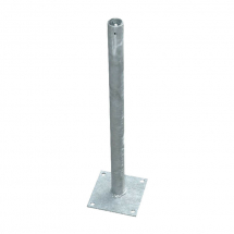 ECO FENCE BOLT DOWN 600x38mm Diam&F/Plate150x150mm