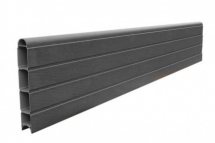 ECO FENCE PANEL 6FT   GRAPHITE 1828mm x 300mm