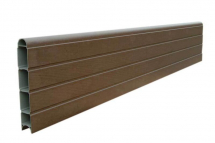 ECO FENCE PANEL 6FT     WALNUT 1828mm x 300mm