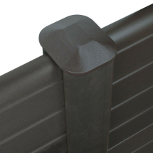 ECO FENCE POST 6FT    GRAPHITE 110mm x 90mm x 1.8M