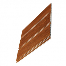 Hollow Pvc Soffit Board 300mm x 5M Light Oak
