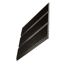 Hollow Pvc Soffit Board 300mm x 5M Black
