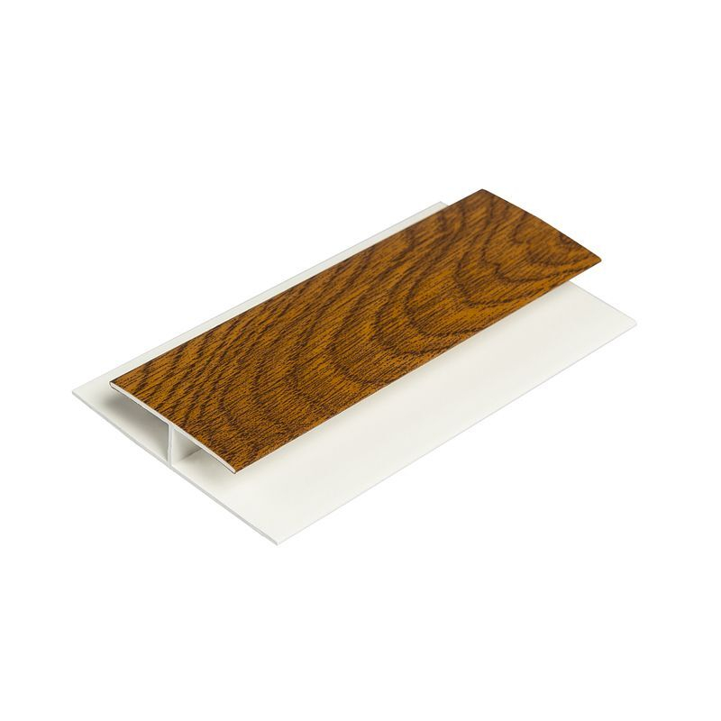 Soffit Centre Joint Light Oak 5M