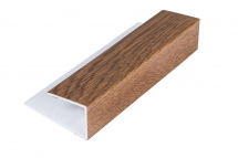 Soffit Starter/Channel Light Oak 5M