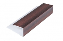 Soffit Starter/Channel 5M Mahogany
