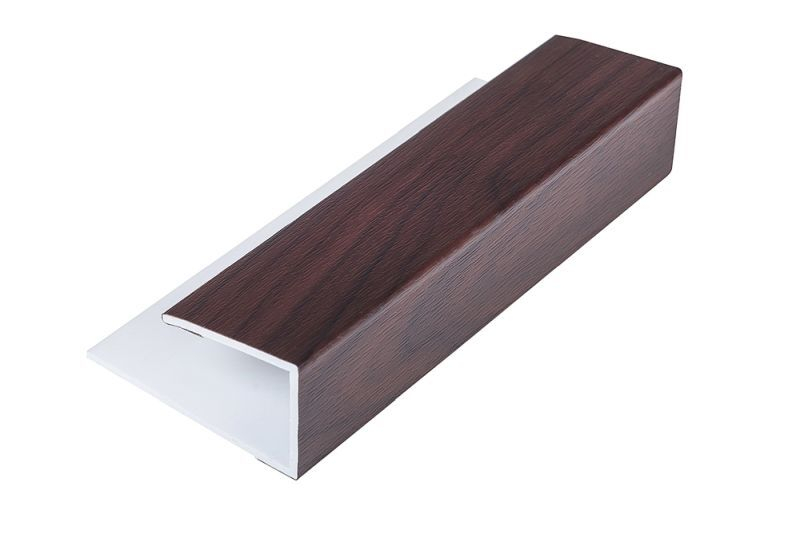 Soffit Starter/Channel Rosewood 5M