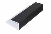 Soffit Starter/Channel Black 5M