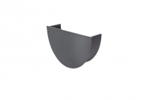 Stopend Internal Deepflow Anthracite Grey