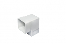 92.5 Degree Bend Square White