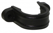 Downpipe Bracket Half Round Cast Iron (with lugs)