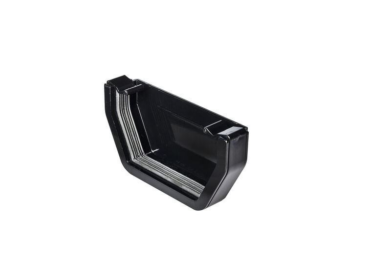 Stopend External Square Black