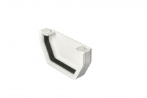 Stopend External Square White