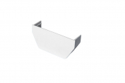 Stopend Internal Square White