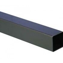 2.5M Downpipe Square Black