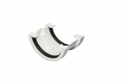Joint Bracket Half Round White