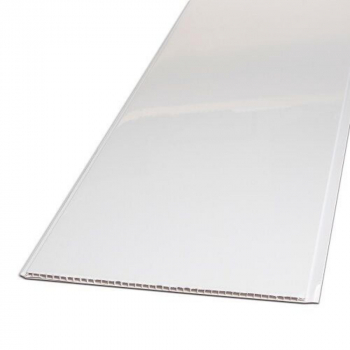 White High Gloss 250mm x 5mm x 2.6M