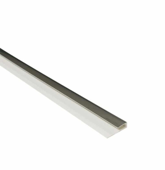 End Cap / Starter Edge Trim Chrome 2.6M x 5mm Thick