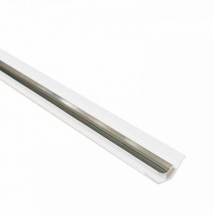 Internal Corner Trim Silver 2.6M x 5mm Thick