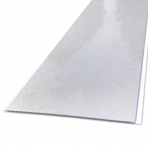 5mm LINER   SPARKLE LIGHT GREY 250mm X 2.6M     Mr P CLADDING