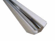 8mm INTERNAL CORNER     CHROME 2.6M  (1 PIECE)  Mr P CLADDING