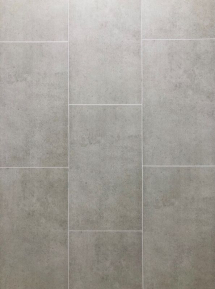 MODISH KIRKWOOD      GREY TILE 8mm X 250mm X 2.7M (4L PACK)