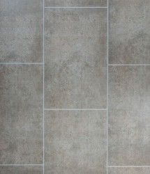 Tile Effect Cutline Flagstone Beige 250mm x 2.7M x 8mm