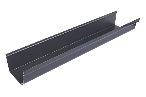 4M GUTTER      SOV/OGEE A/GREY ANTHRACITE GREY