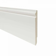 Deeplas Reversible PVC Skirting Board 125mm x 5M