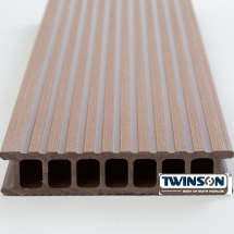 TWINSON DECKING 4M HAZEL BROWN