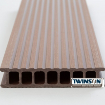 TWINSON DECKING 6M HAZEL BROWN