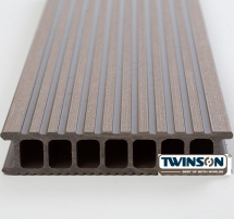 TWINSON DECKING 6M  BARK BROWN