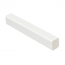Rectangle 15mm X 13mm x 5M White